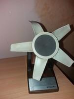 Retró Philips Asztali Ventilátor