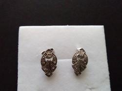 Antik ezüst fülbevaló