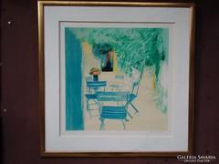 Claud Hemeret: Kék székek  certifikált, 1/3-ad árban !!!