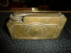 Krolupper szabadalom! Antik gépfegyver olajozó a II.Világháború idejéből - hibátlan!