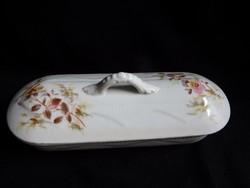 Antik porcelán fogkefetartó