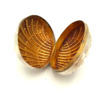 Ezüst nyitható kagyló belül aranyozva