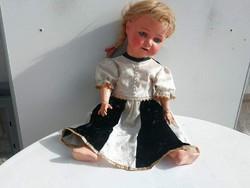 Antik baba porcelán fejű Heubach Köppelsdorf Germany