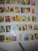 Cigánykártya -jósláshoz 36 db kártya)