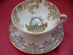 Wien Atelier Hassenpflug Wiener Prater emlék csésze