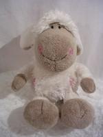 Játék - exkluzív - NICI - bárány - NAGY - 24 x 14 cm - kenguruzsebes pulcsiba - szép állapot