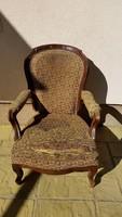 Nagyon régi Barokk karfás fotel