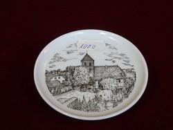 Német porcelán emlék tálka, átmérője 9,5 cm.