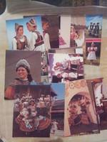 Magyar népviselet képeslapok