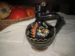 Máriagyűdi csörgő korsó  1934  .  ,a kegyhelyről származik  ,kb 18 cm