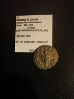 III. Gordianus ezüst Antoninianus