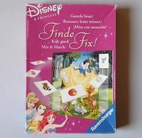 Régi Ravensburger Disney Princess Finde Fix! német játék