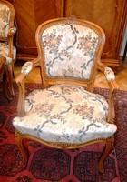 2 db neobarokk karos szék, fotel
