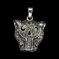 Valodi Rubin Markazit 925 Ezust Tigris Medal