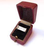 CSMTK ,Stefán Judit 1949,'100--200m gyors úszó bajnokságért'ezüst gyűrű.