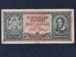 Háború utáni inflációs sorozat (1945-1946) 10000000 Pengő bankjegy 1945 / id 11863/