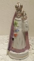 Mária gyermekével, antik szobor, kegytárgy, porcelán