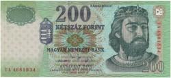 200 Forint 2005 FA - aUNC - hajtatlan