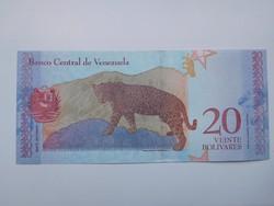 Venezuela 20 bolivares  2018 UNC további bankjegyek a kínálatomban a galérián