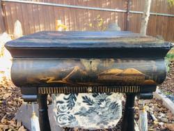 Antik japán asztal, ázsiai, keleti, kínai