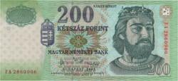200 Forint 2007 FA - UNC