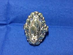 Vadonat uj / nem használt Női gyűrű - 14 karátos vörösarany+ sárgaarany