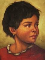 Olvashatatlan (20.sz.közepe) : Kislány portré