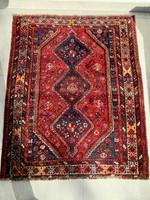 Antik perzsa shiraz szőnyeg 140 x 114 cm.