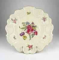 0Y410 Régi Waldershof Bavaria porcelán kínáló tál