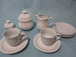 Alföldi kávés készlet darabjai pótlásnak, csésze, cukortartó