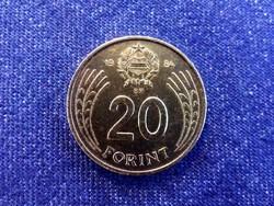 Népköztársaság (1949-1989) aranyozott 20 Forint 1984 BP BU / id 11933/
