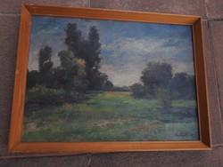 Kutyik Gergely festmény