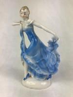Német porcelán hölgy