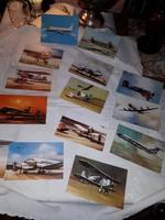 14db Malév fotos levelező lap