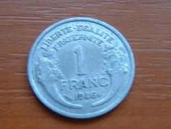 FRANCIA 1 FRANC FRANK 1946 ALU. #