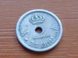 NORVÉGIA 25 ŐRE 1949 #
