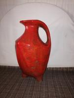 1,-Ft Art-deco hatalmas Pesthidekúti kerámia váza vagy kiöntő kancsó!
