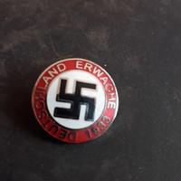 Németország ébredj kitűző
