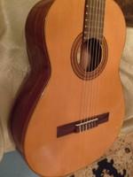 Raimundo stúdió koncert gitár+tok Bécsi aranyozott jelz kézműves klasszikus akusztikus ajándékozható