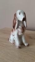 Porcelán hollóházi kutya