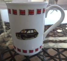 Angol járműves bögre - modern