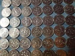 103 pcs 50ft commemorative coin, deuces 20ft, kossuth 100ft !! Waiting for your offer!