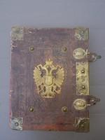 Arany korona, 1881 Budapest, 25.kiadás, gyönyörű rézveretekkel