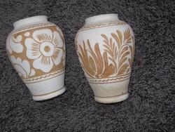 2 db Korondi 14cm, váza Az egyik szignós,