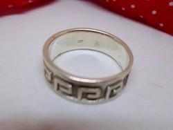 Szépséges régi tömör ezüstgyűrű