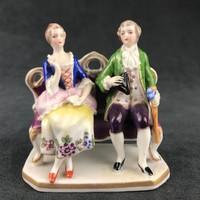 Porcelán miniatűr / Altwien