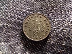Németország Horogkeresztes 1 Reichspfennig 1940 B / id 12112/
