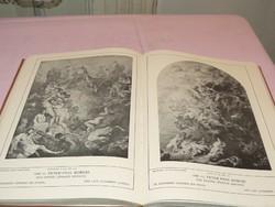 1924-es kiadású Vlaemische Malerei. Flamand festészet német nyelvű