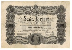 100 Száz forint 1848 Kossuth bankó 4.