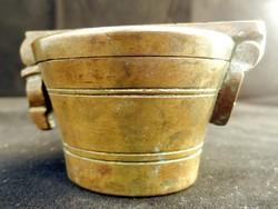 Antik Patikai Lat Mérő Bronzból